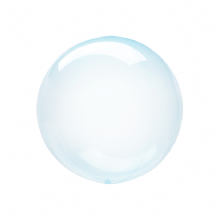 "Crystal Clearz Petite Balloon - Blue Crystal Clearz Petite  (12"") 1pc"